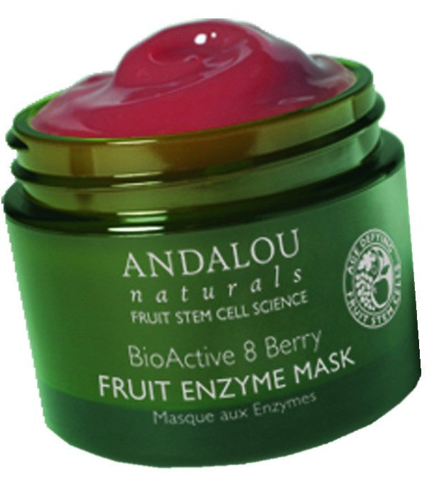 Dietary Supplement - Andalou Naturals BioActive 8 Berry Fruit Enzym Mask 1.7 OZ