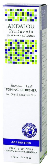 Dietary Supplement - Andalou Naturals Blossom + Leaf Toning Refresher 6 OZ