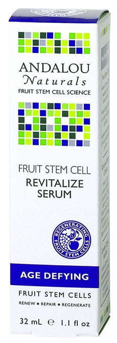Dietary Supplement - Andalou Naturals Fruit Stem Cell Revitalize Serum 1.1 OZ