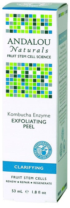 Dietary Supplement - Andalou Naturals Kombucha Enzyme Exfoliating Peel 1.8 OZ