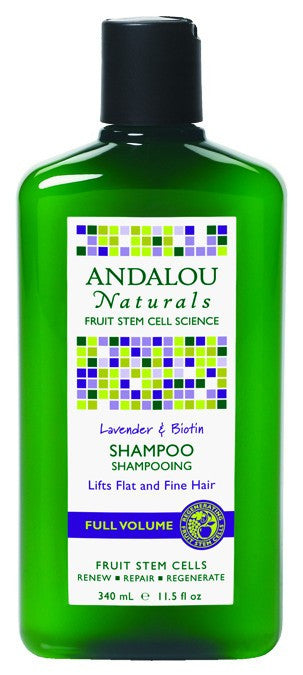 Dietary Supplement - Andalou Naturals Lavender Biotin Volume Hair 11.5 OZ