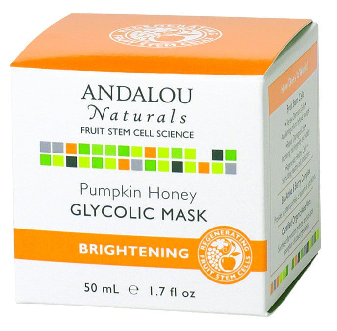 Dietary Supplement - Andalou Naturals Pumpkin Glycolic Brightening Mask 1.7 OZ