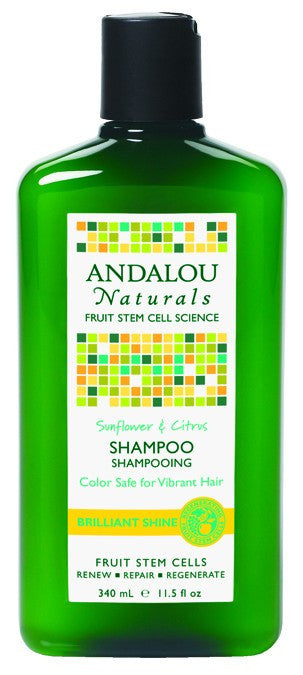 Dietary Supplement - Andalou Naturals Sunflower Citrus Shine Shampoo 11.5 OZ