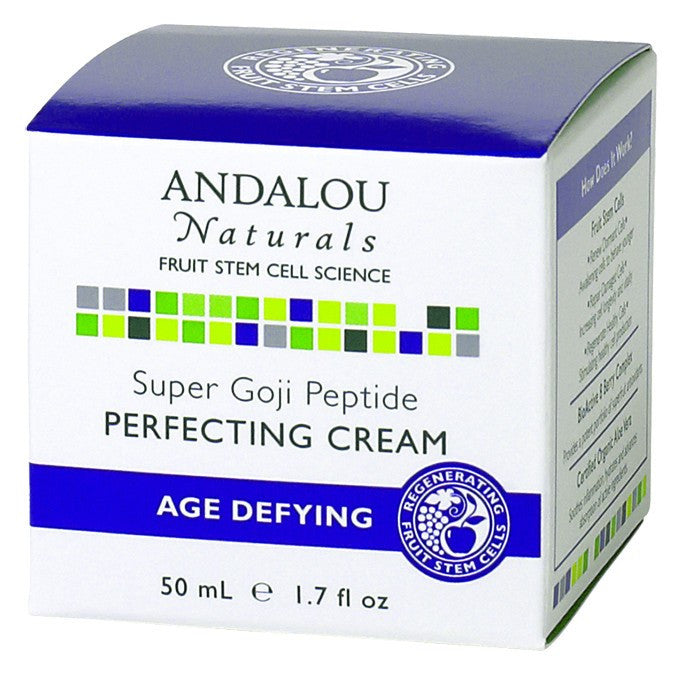 Dietary Supplement - Andalou Naturals Super Goji Peptide Perfect Cream 1.7 OZ