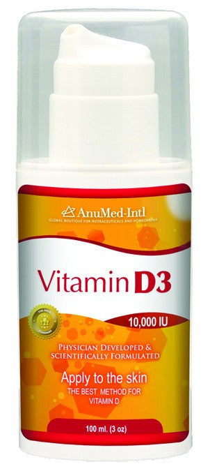 Dietary Supplement - Anumed International Vitamin D3 Cream 3 OZ
