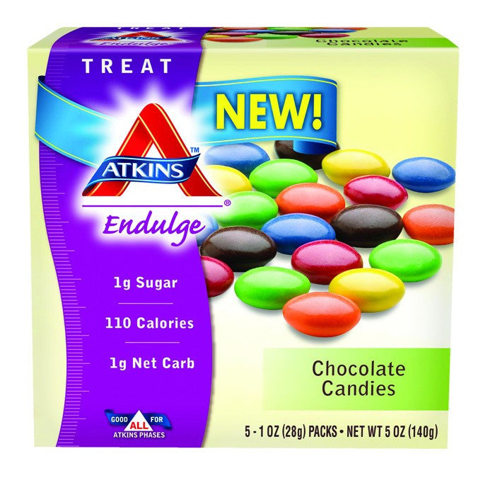 Dietary Supplement - Atkins Nutritionals Chocolate Candies 5/BOX