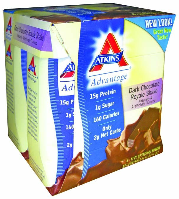 Dietary Supplement - Atkins Nutritionals Chocolate Royale Shakes 6/4PAK
