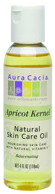 Dietary Supplement - Aura Cacia Apricot Kernal Skin Oil 4 OZ