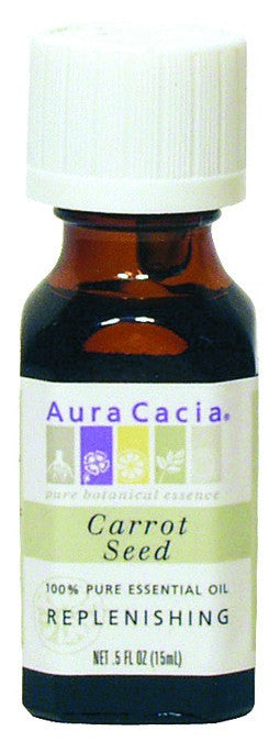Dietary Supplement - Aura Cacia Carrot Seed Oil .5 OZ Essential Oil