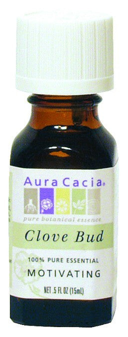 Dietary Supplement - Aura Cacia Clove Bud Motivating .5 OZ Essential Oil