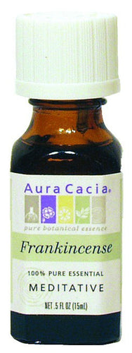 Dietary Supplement - Aura Cacia Frankincense Meditative .5 OZ Essential Oil