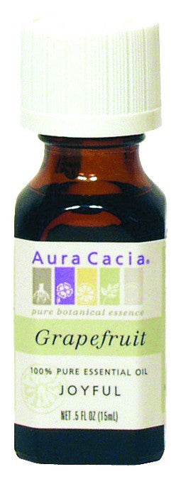 Dietary Supplement - Aura Cacia Grapefruit .5 OZ Joyful Essential Oil