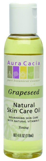 Dietary Supplement - Aura Cacia Grapeseed Skin Oil 4 OZ