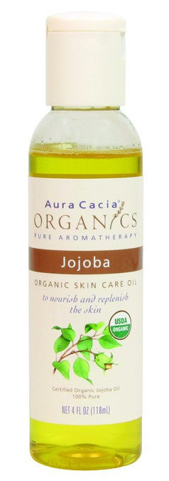 Dietary Supplement - Aura Cacia Jojoba Organic Skin Oil 4 OZ