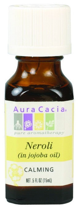 Dietary Supplement - Aura Cacia Neroli Essential Oil In Jojoba .5 OZ