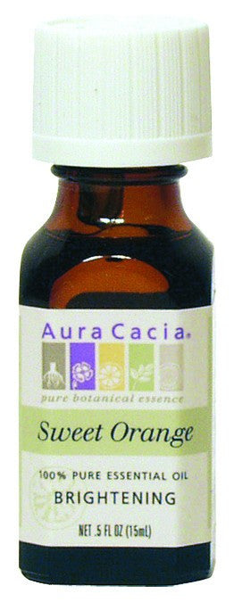 Dietary Supplement - Aura Cacia Orange Sweet .5 OZ Brightening Essential Oil