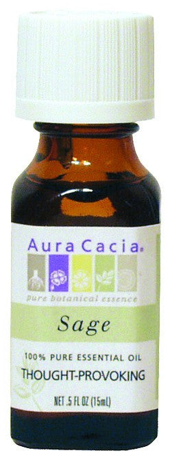 Dietary Supplement - Aura Cacia Sage .5 OZ