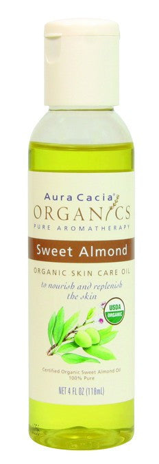 Dietary Supplement - Aura Cacia Sweet Almond Skin Oil 4 OZ