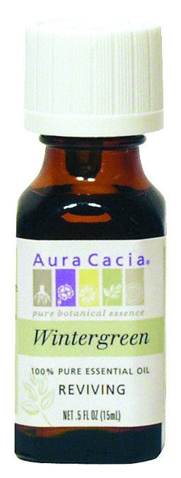 Dietary Supplement - Aura Cacia Wintergreen .5 OZ Reviving Essential Oil