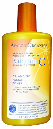 Dietary Supplement - Avalon Naturals Balancing Facial Toner 8.5 OZ