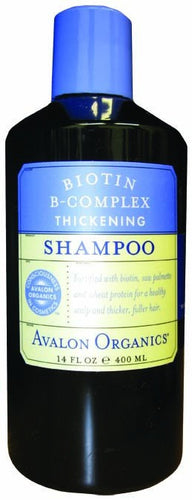Dietary Supplement - Avalon Naturals Biotin B Complex Thick Shampoo 14 OZ
