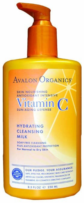Dietary Supplement - Avalon Naturals Hydrating Cleansing Milk 8.5 OZ