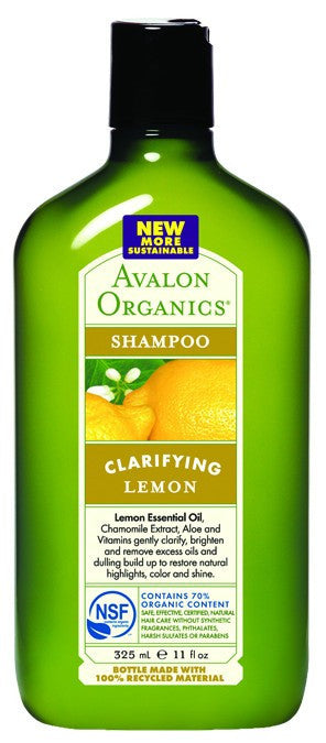 Dietary Supplement - Avalon Naturals Lemon Shampoo W/Shea Butter 11 OZ