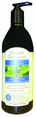 Dietary Supplement - Avalon Naturals Peppermint Glycerine Hand Soap 12 OZ
