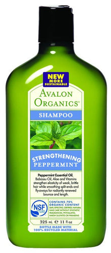 Dietary Supplement - Avalon Naturals Peppermint Shampoo 11 OZ