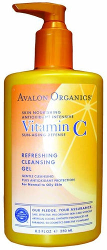 Dietary Supplement - Avalon Naturals Refreshing Facial Cleanser 8.5 OZ