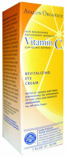 Dietary Supplement - Avalon Naturals Revitalizing Eye Creme 1 OZ