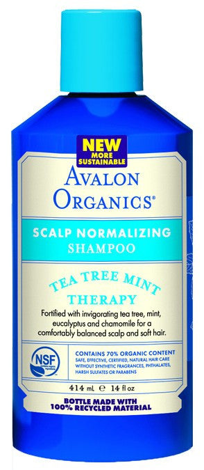 Dietary Supplement - Avalon Naturals Tea Tree Mint Treatment Shampoo 14 OZ