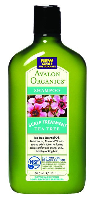 Dietary Supplement - Avalon Naturals Tea Tree Scalp Treatment Shampoo 11 OZ