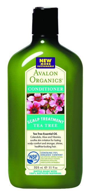 Dietary Supplement - Avalon Naturals Tea Tree Scalp Trtmt Conditioner 11 OZ