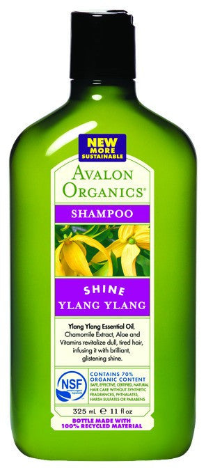Dietary Supplement - Avalon Naturals Ylang Ylang Shampoo 11 OZ