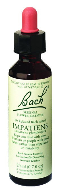 Dietary Supplement - Bach Original Flower Essences Impatiens 20 ML