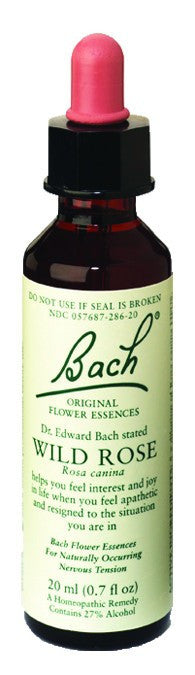 Dietary Supplement - Bach Original Flower Essences Wild Rose 20 ML