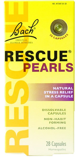 Dietary Supplement - Bach Original Flower Remedies Rescue Pearls 28 CAP