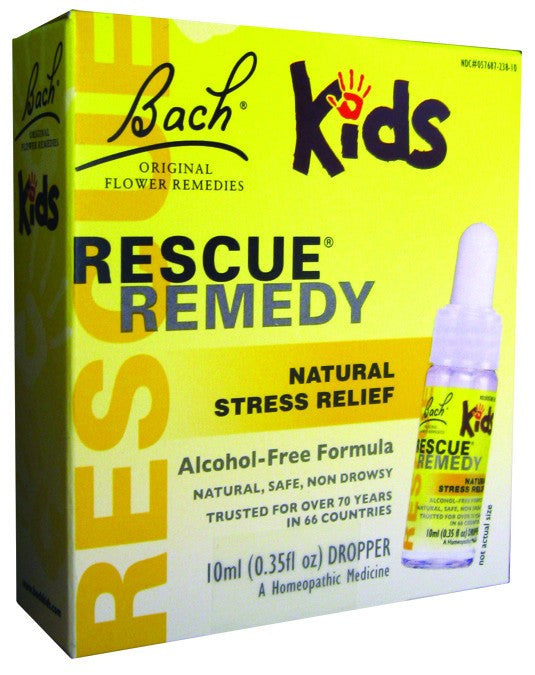 Dietary Supplement - Bach Original Flower Rescue Stress Remedy Kids 10 ML
