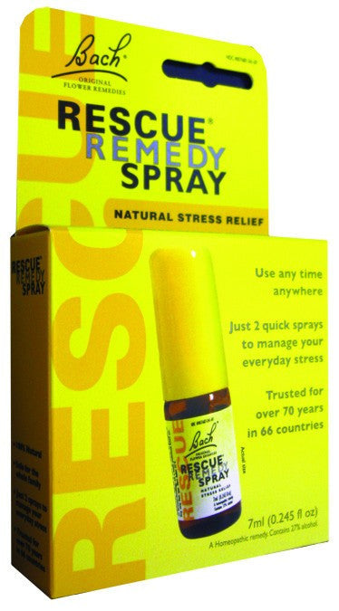 Dietary Supplement - Bach Original Flower Rescue Stress Remedy Spray 7 ML