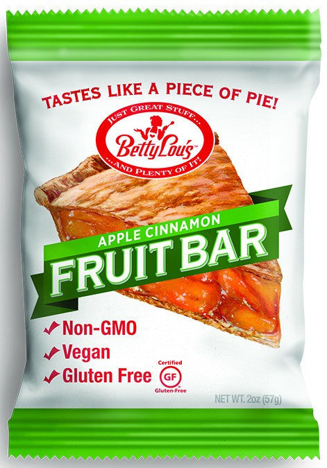 Dietary Supplement - Betty Lou's Apple Cinnamon Fruit Bars