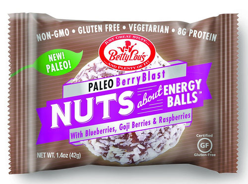 Dietary Supplement - Betty Lou's Berry Blast Paleo Energy Balls
