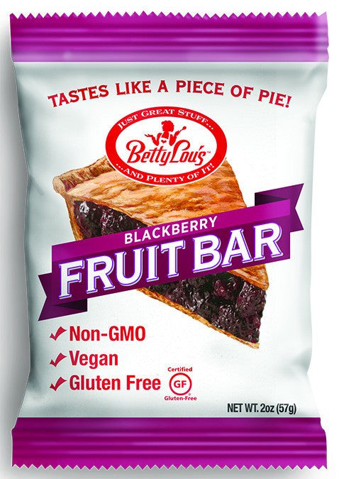 Dietary Supplement - Betty Lou's Blackberry Fruit Bars