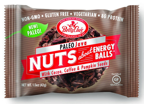 Dietary Supplement - Betty Lou's Java Paleo Energy Balls