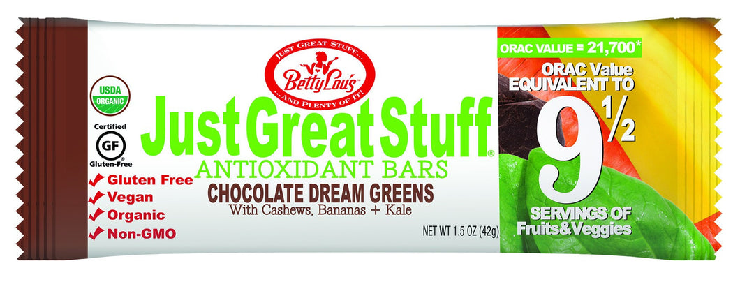 Dietary Supplement - Betty Lou's Just Great Stuff Chocolate Dream Bar