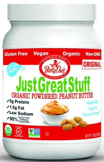 Dietary Supplement - Betty Lou's Organic Powdered Peanut Butter 1.5 LB