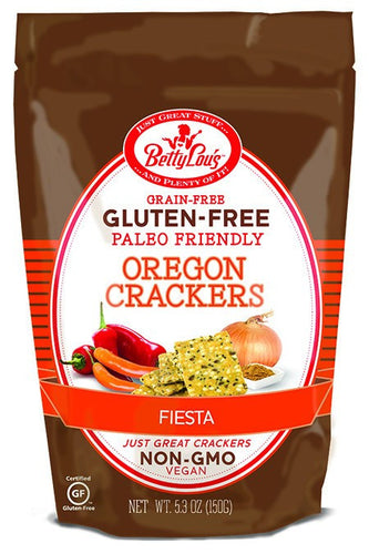 Dietary Supplement - Betty Lou's Paleo Friendly Fiesta Crackers 5.3 OZ