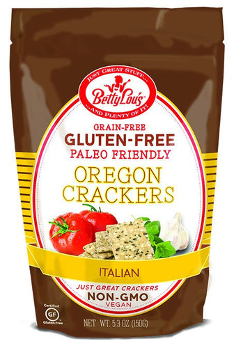 Dietary Supplement - Betty Lou's Paleo Friendly Italian Crackers 5.3 OZ