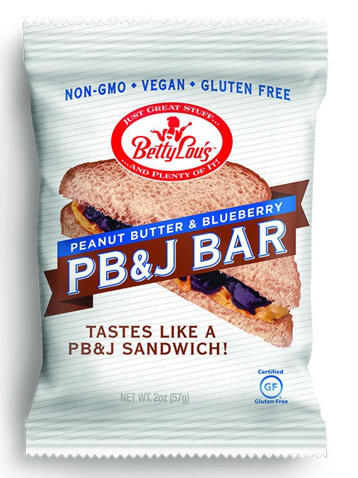 Dietary Supplement - Betty Lou's PB&J Blueberry Bars