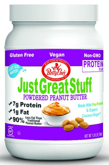 Dietary Supplement - Betty Lou's Protein Plus Powder Peanut Butter 1.5 LB